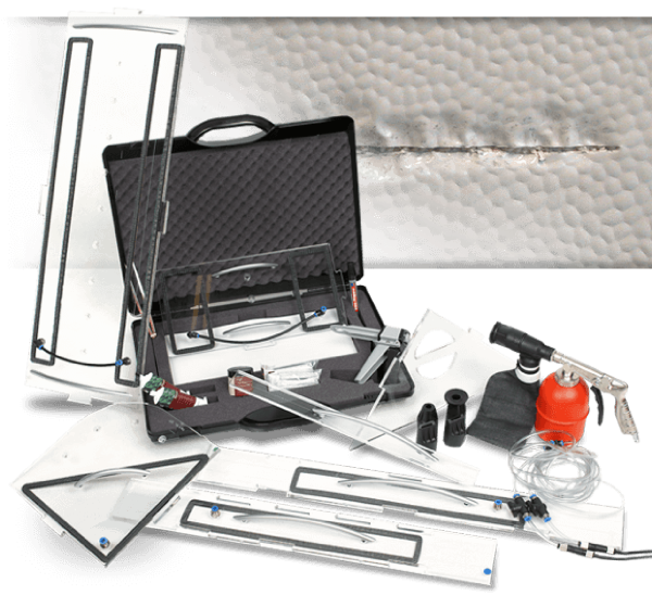 Caravan and Mobile Home Dent and Paint Repair Systems